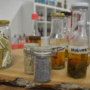 Lokala örter som kan användas i drycker