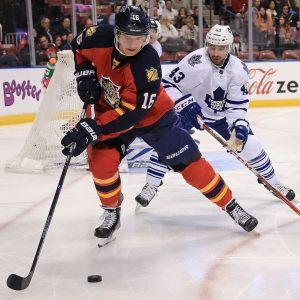 Alexander Barkov valdes till matchens bästa spelare när Florida slog Toronto med 5-1