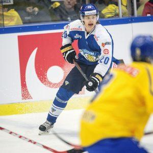 Sebastian Aho fick en assist i förlusten i torsdags i Örebro.