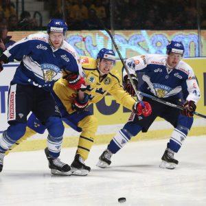 Lejonen fick inte igång spelet mot Tre Kronor.