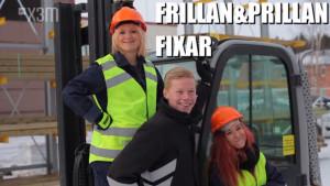Frillan och Prillan kör truck