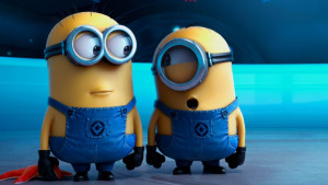 Minions från Despicable me 2