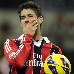 Alexandre Pato spelade flera säsonger i Milan.
