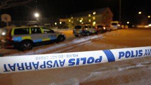 En person dödades på ett asylboende i Ljusne utanför Söderhamn i Sverige den 13 februari 2016.
