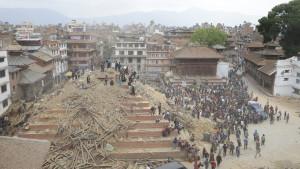 Jordbävningen i Nepal har förorsakat mycket stor förstörelse och krävt hundratals dödsoffer.