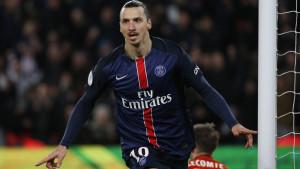 Zlatan Ibrahimovic gör en kanonsäsong i PSG.