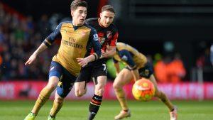 Hector Bellerins Arsenal hämtade hem full pott från sydkusten.