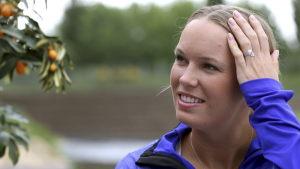Caroline Wozniacki fick veta om sitt hedersuppdrag i god tid.
