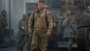 Brad Pitt i filmen The Fury.
