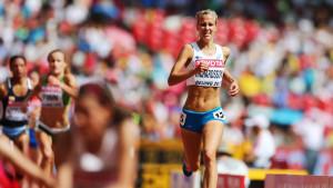 Camilla Richardsson mästerskapsdebuterade i Peking.