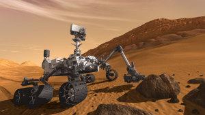 Marskryparen Curiosity.