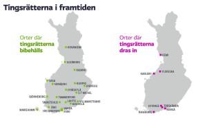 Tingsrätter i Finland.