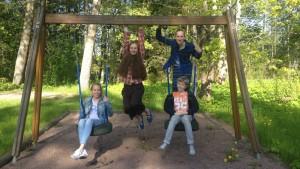 Sonja Wallin, Anna Sundell, Catarina Korkman och Bernard Lindberg