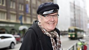 Skådespelaren Antti Litja vid lanseringen av filmen Kverulanten i Helsingfors den 1 september 2014.