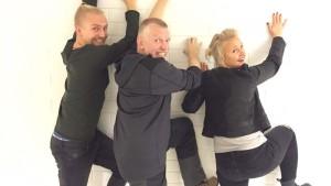 Janne Grönroos, Pata Degerman, Fredrika Lindholm