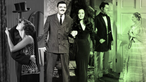 svartvit film, the addams family, the artist, jezebel, tv-serie, skärmdumpar