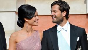 Sofia Hellqvist och prins Carl Philip.