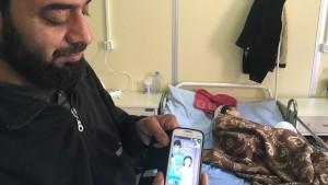 Sexåriga Shayma har förlorat sin syn.