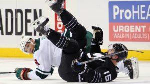 Mikko Koivu, Minnesota-Islanders, februari 2016.