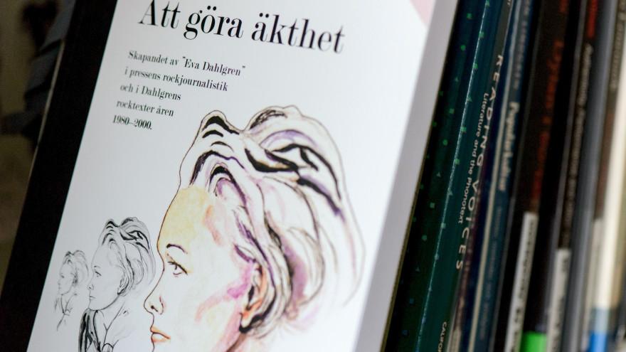 Anna Biströms doktorsavhandling om Eva Dahlgren