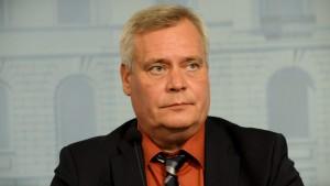Finansminister Antti Rinne.