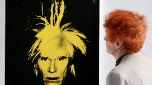 Självporträtt av Andy Warhol