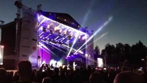 Roxette konsert vid Karlsplan i augusti 2015.