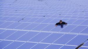 Tysk solkraftspark med en kapacitet på 8,2