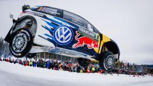 Sebastien Ogier, svenska VM-rallyt 2015.