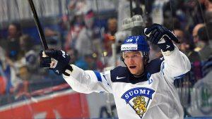 Jussi Jokinen var Finlands bästa poängplockare med 1+1.