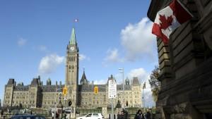 Parlamentsbyggnaden i Ottava, Kanada