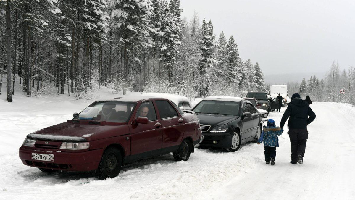 Russian-Finnish border 01/23/2016