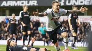Kieran Trippier blev Tottenhams hjälte.