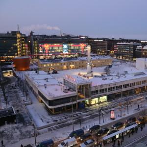 Glaspalatset i Helsingfors, 7.1.2016.