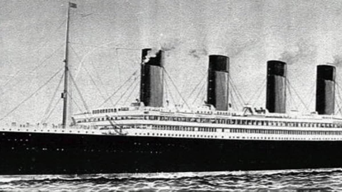 Titanicin Uppoamispaikka