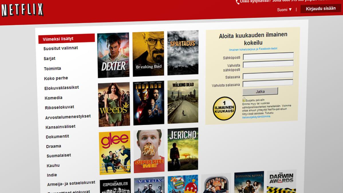 Netflix Ilmainen Kokeilu