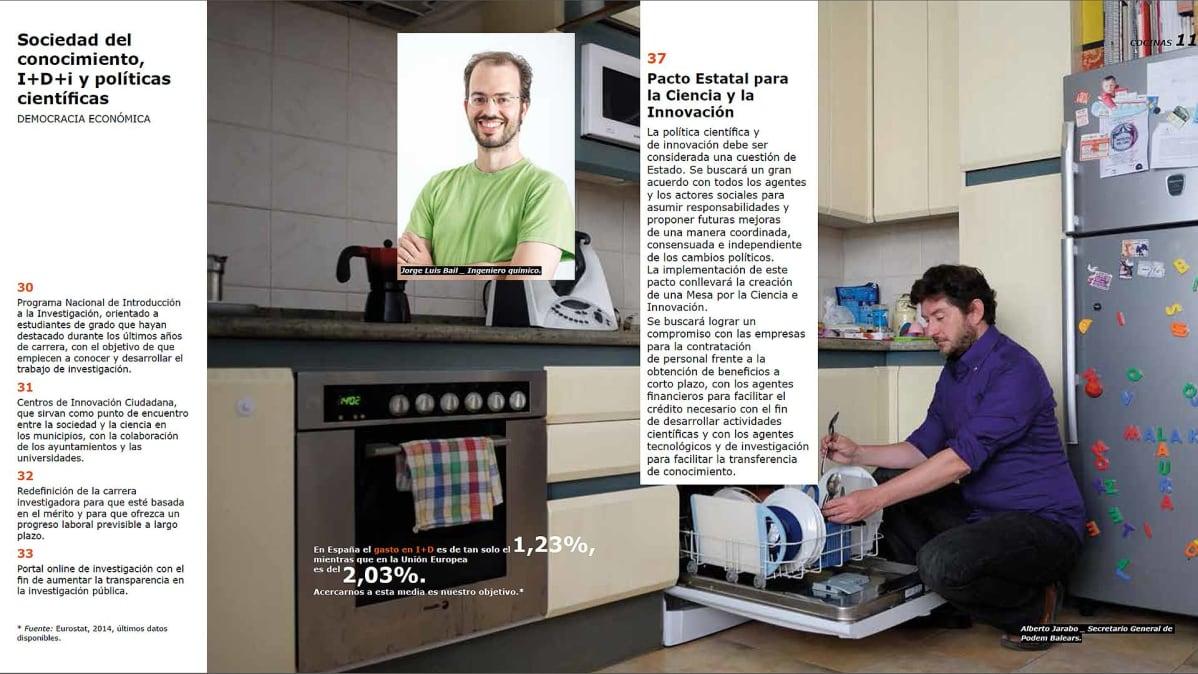 Espanjan Podemos markkinoi vaaliohjelmaansa Ikea katalogilla  Yle Uutiset