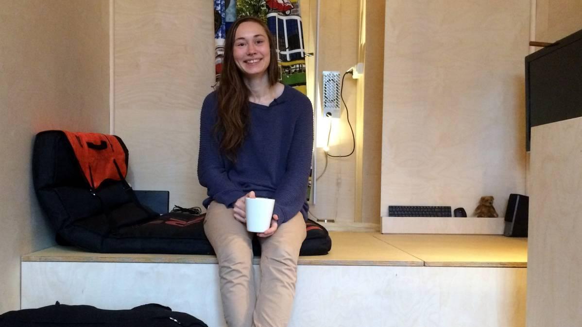 Tiina Malinen, 24, rakensi kodin trailerin päälle –  Parasta tässä on va