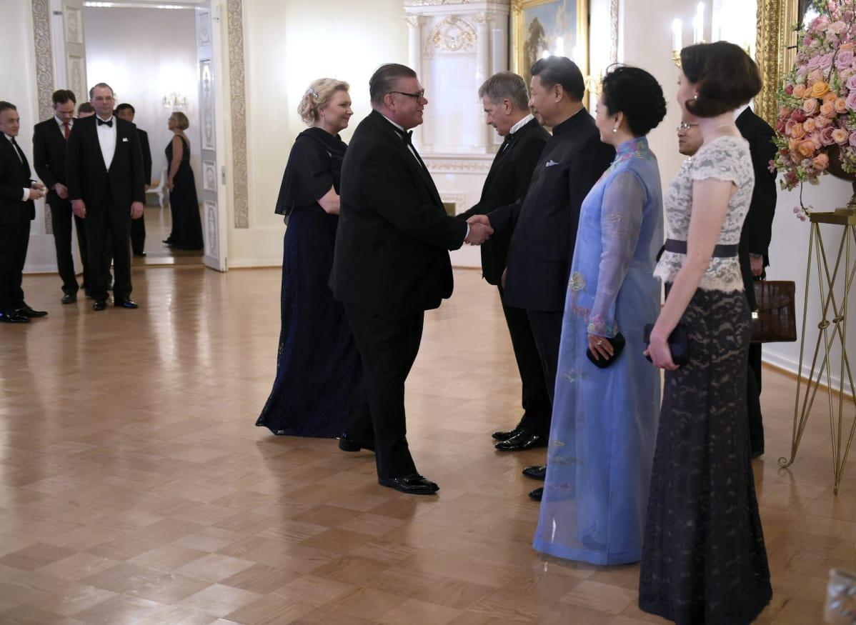 Kiinan presidentin vierailu huipentui juhlaillalliseen – Lue kooste päivän tapahtumista | Yle ...
