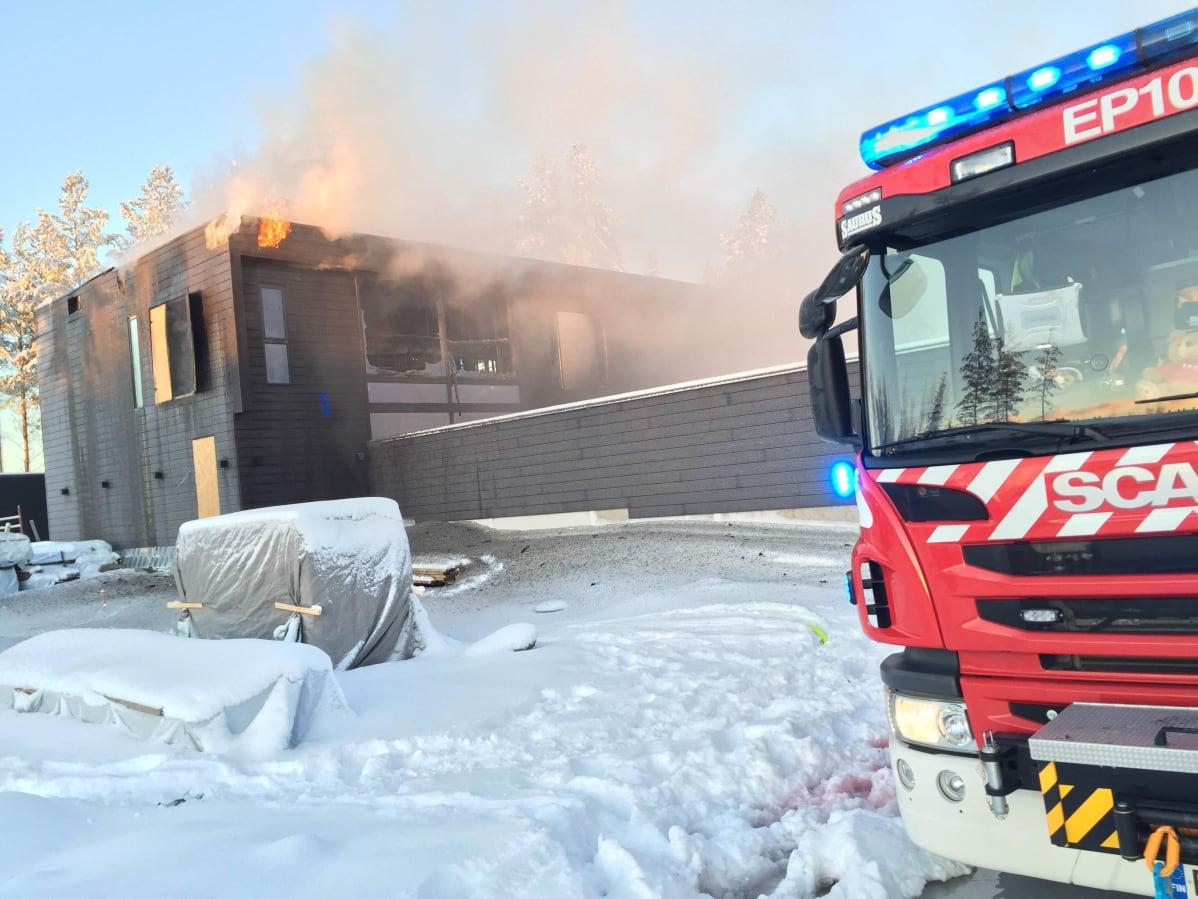 Tulipalo Seinäjoki