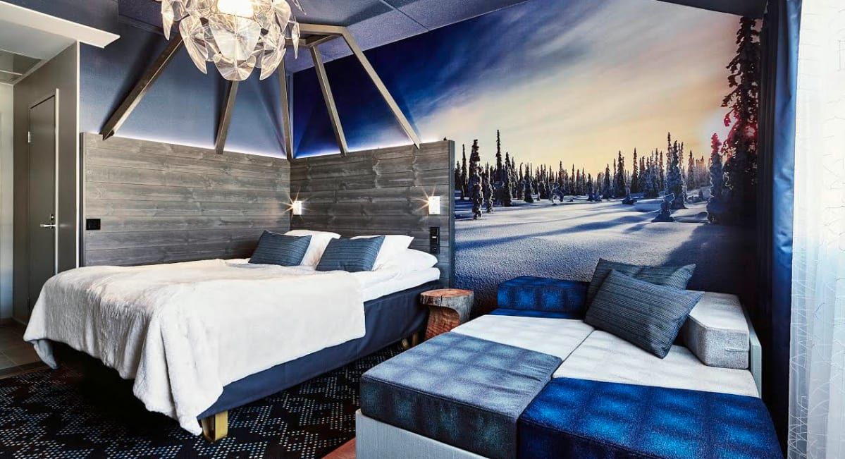 Rovaniemen vaakuna hotelli uusi huoneensa yle uutiset - Chambre adulte originale ...