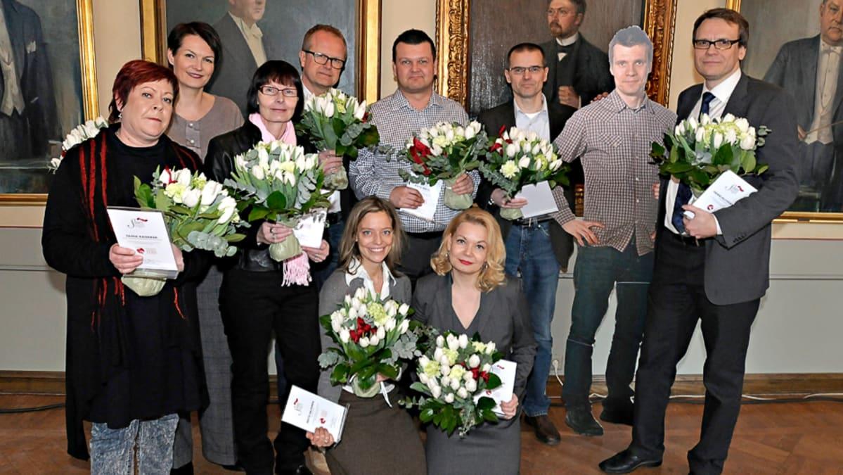 Ylen toimittajia ehdolla Suuren Journalistipalkinnon saajaksi | Yle Uutiset | yle.fi