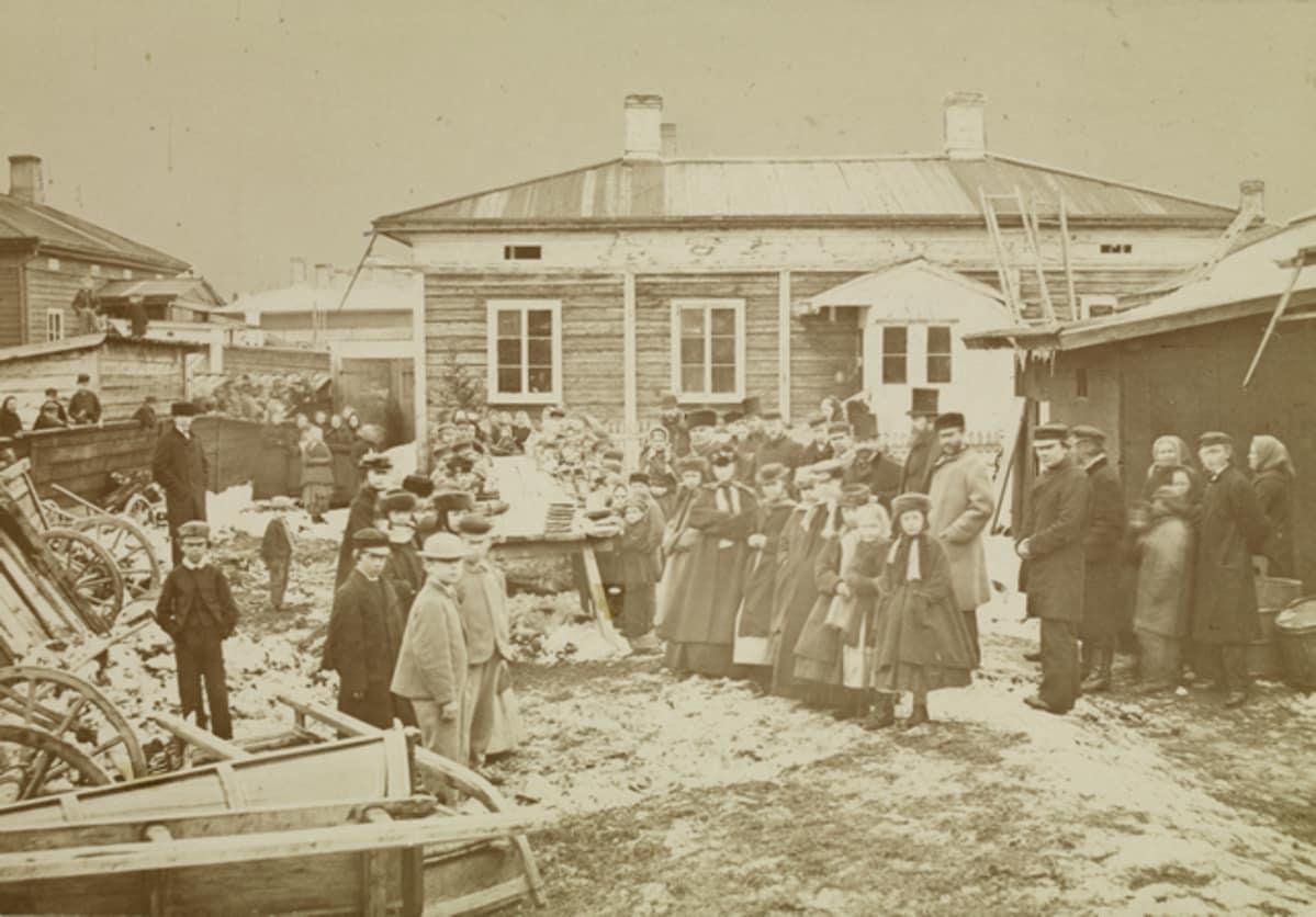 Suomen Nälkävuodet