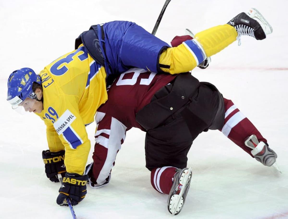 Lehti: Winnipeg Jetsin ruotsalaistähti sivuun kuukaudeksi | Yle Urheilu | yle.fi