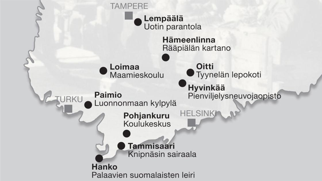 suomalaisia naisia Pyhajarvi