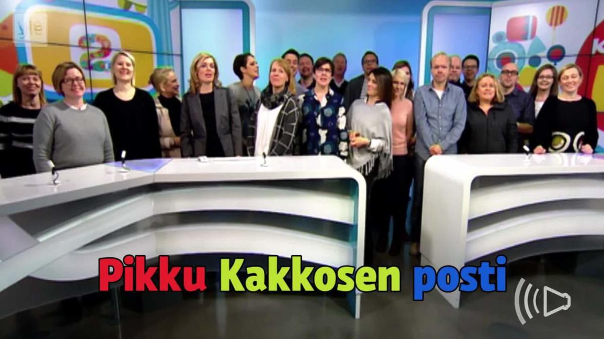 Pikku Kakkosen Posti Laulu
