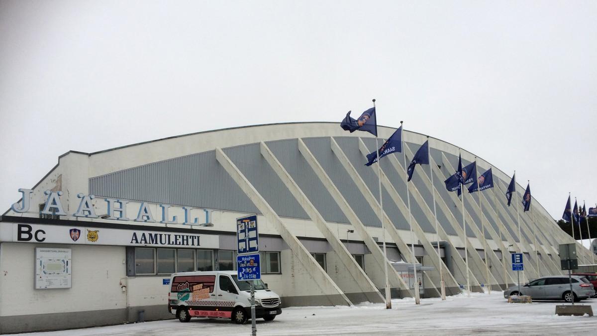 Vuonna 1965 Hakametsän jäähalli nosti Tampereen kartalle  Olimme maailm