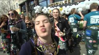 Video: Uutisvideot: Vapunvietto on alkanut – vappupallot käyvät kaupaksi ja kuohuviini kuplii