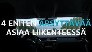 Video: Neljä asiaa, jotka ärsyttävät suomalaisia liikenteessä kympillä
