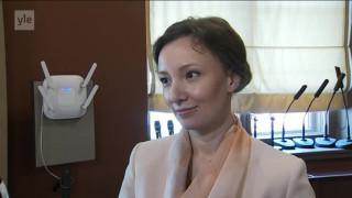 Видео: Novosti Yle: Venäjän lapsiasiainmies Anna Kuznetsova